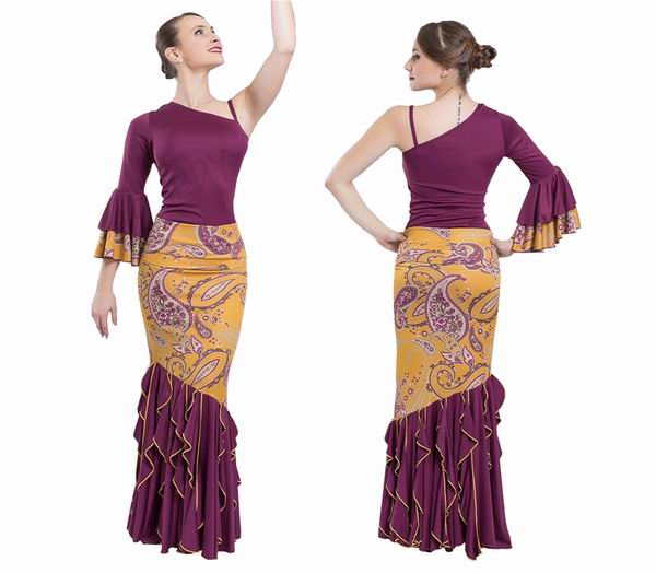 Jupe pour la danse Flamenco Happy Dance. Ref. EF224PE02PS47PS47HL22